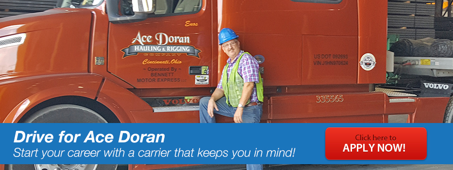 Drive for Ace Doran - Ace Doran Hauling & Rigging